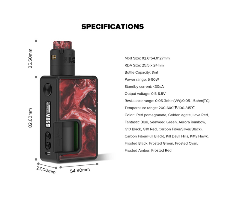 Vandy Vape Pulse X Squonk Kit Special Edition