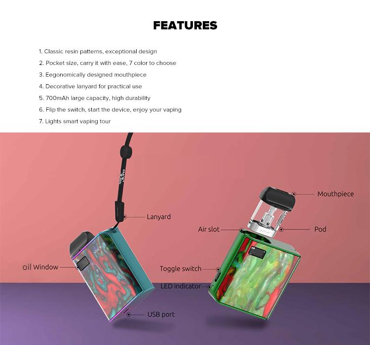 SMOK MICO Pod Starter Kit 700mAh