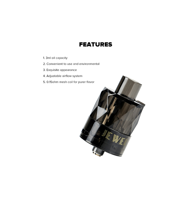 Augvape Jewel Disposable Subohm Tank