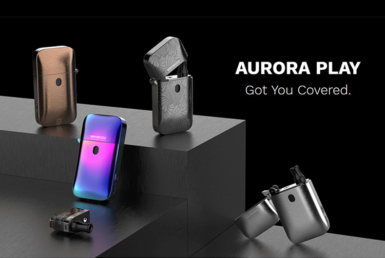 Vaporesso Aurora Play Lighter Pod Kit