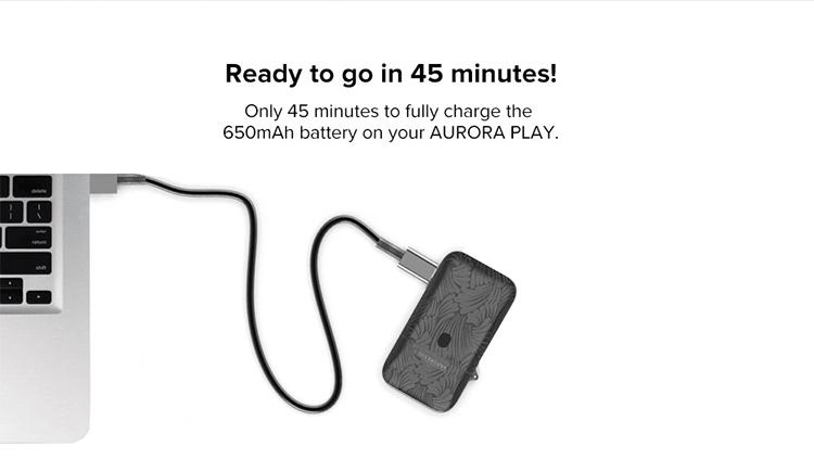 Vaporesso Aurora Play Lighter Pod Kit