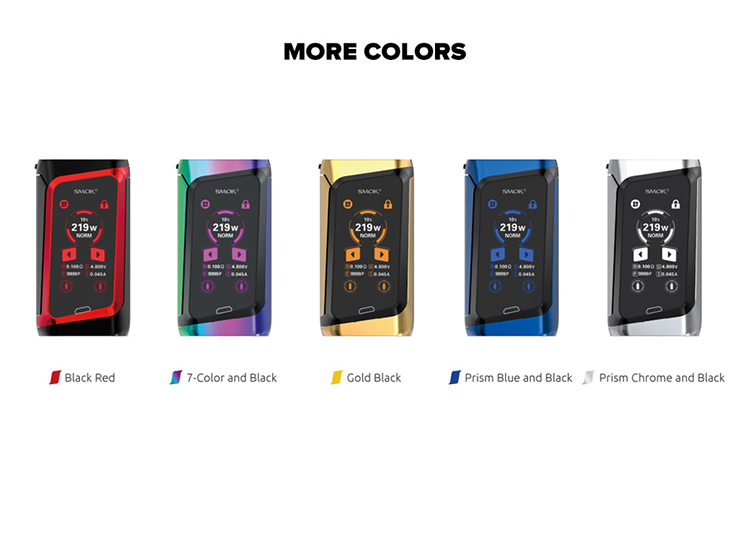 SMOK Morph 219 Touch Screen Box Mod