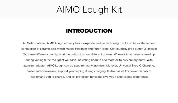AIMO Lough Pod Vape Kit