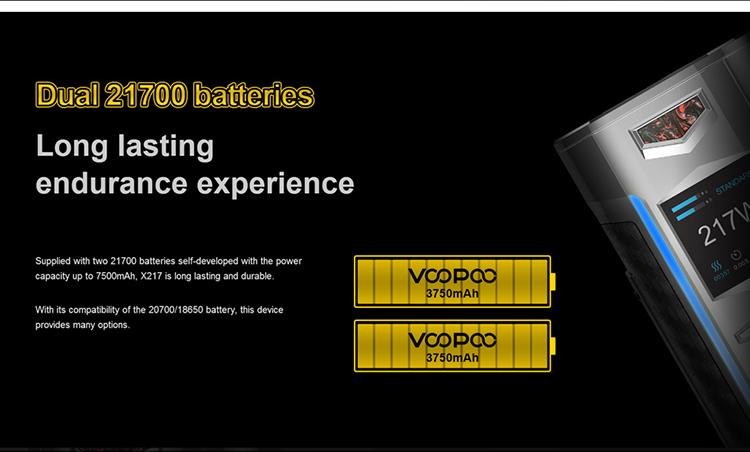 VOOPOO X217 TC box mod