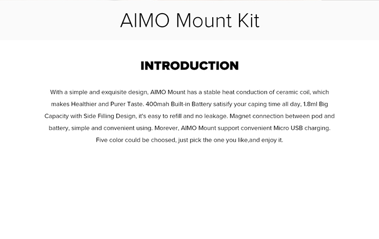 AIMO Mount Pod System Kit