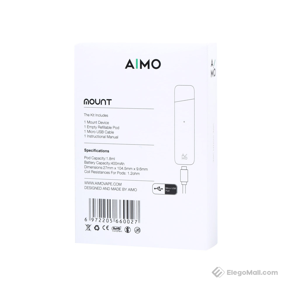 AIMO Mount Pod System Kit 400mAh & 1.8ml