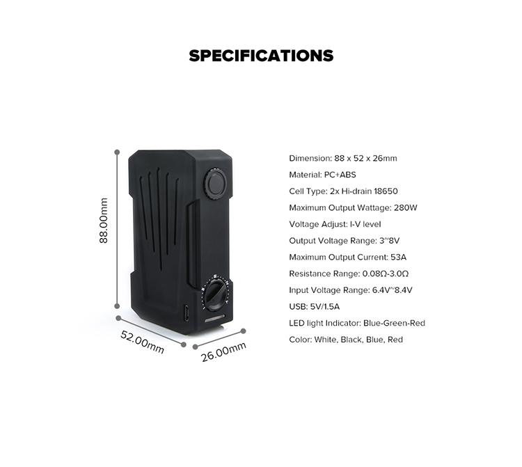 Teslacigs Invader 4X Mod