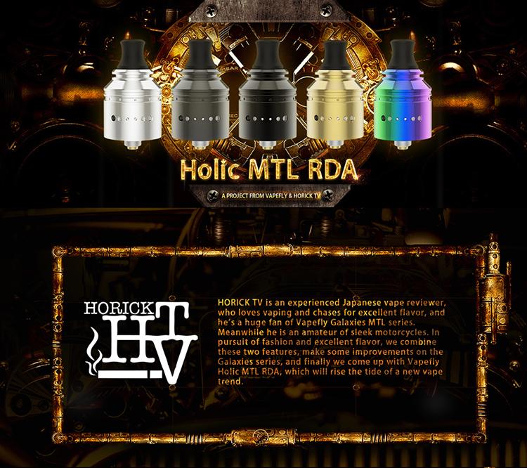 Vapefly Holic MTL RDA Atomizer