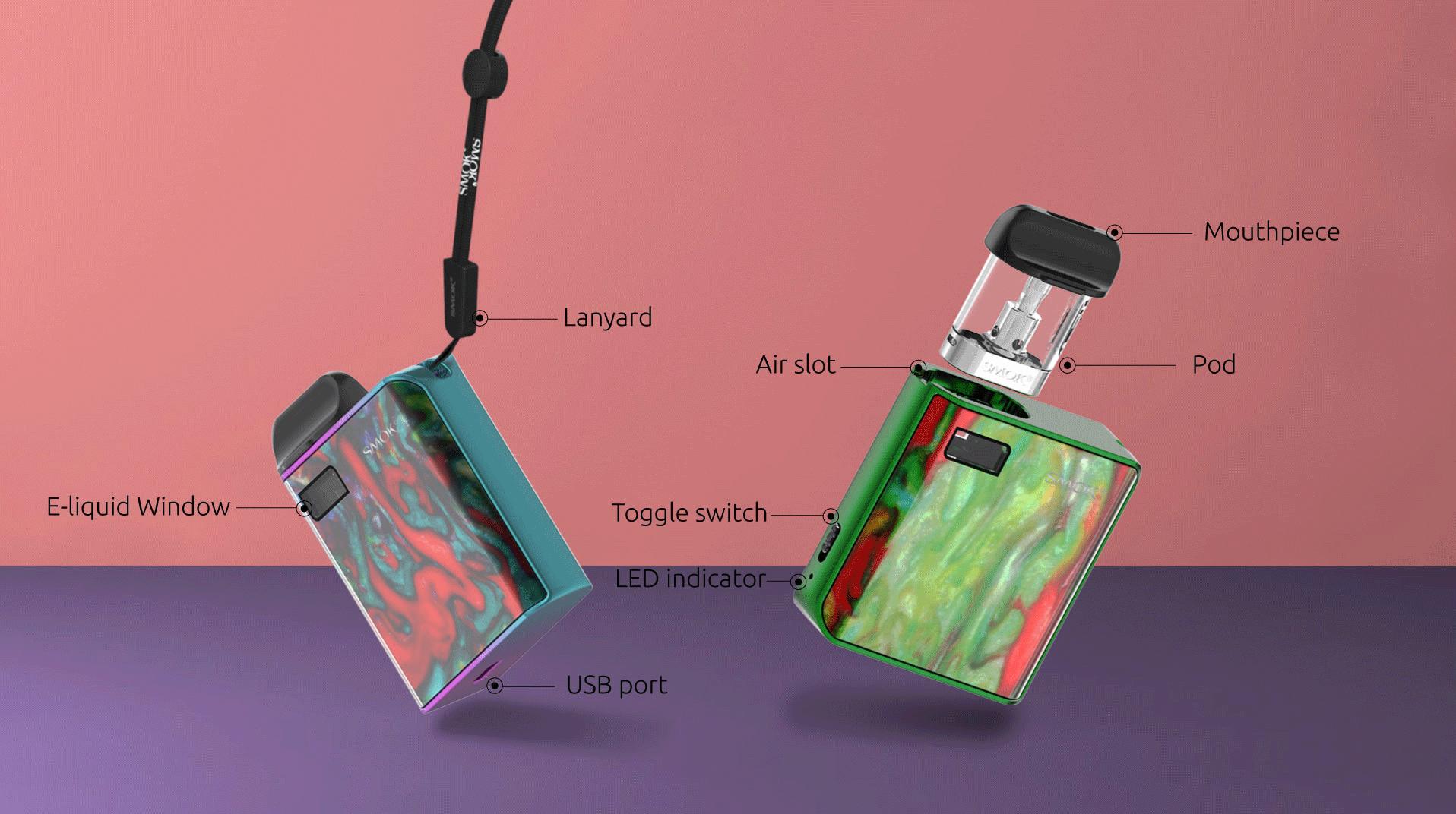 SMOK Mico Kit VS Voopoo Drag Nano Kit