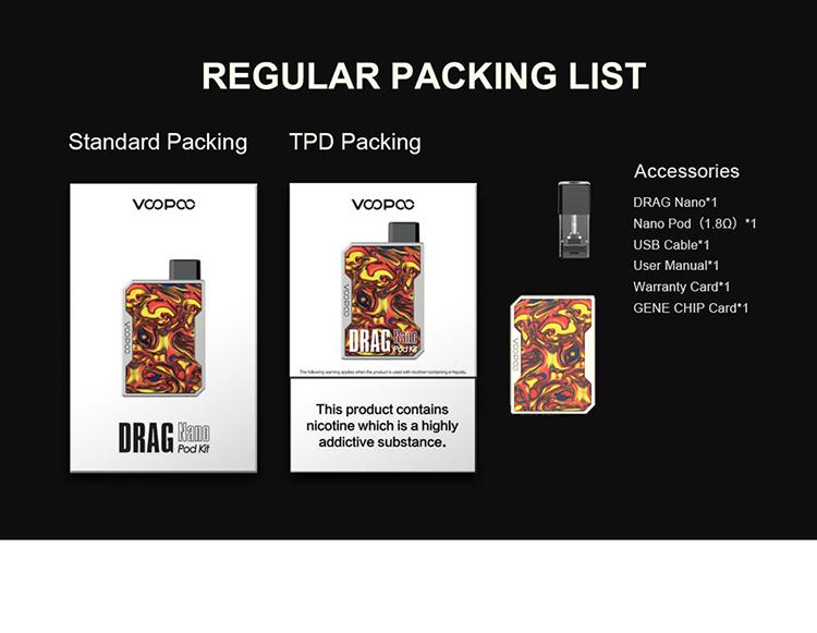 Voopoo Drag Nano Pod System Kit