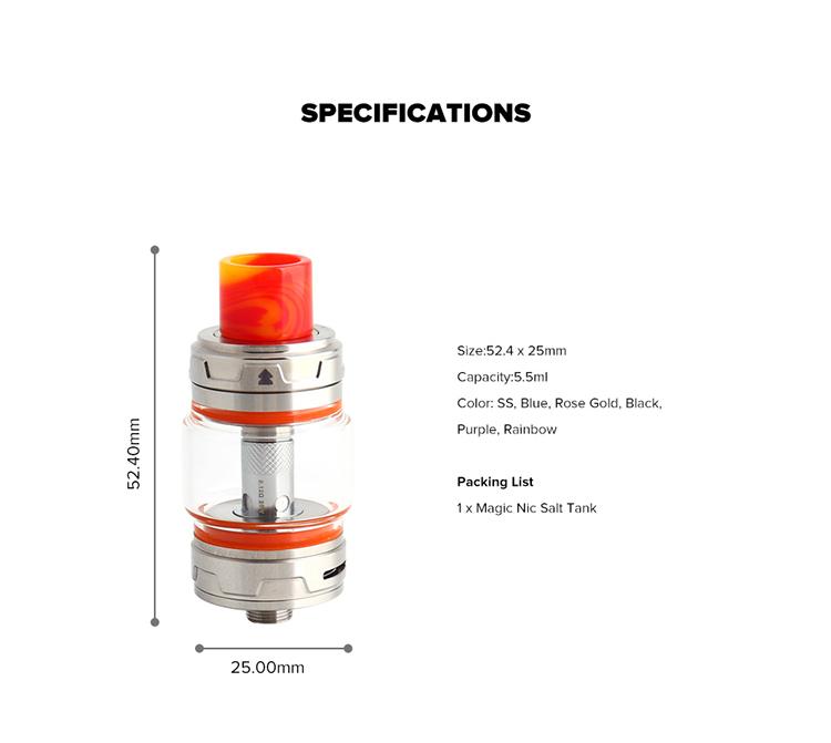 HorizonTech Magico Nic Salt Tank 5 5/2ml