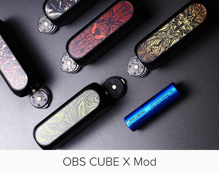 OBS Cube X 80W Mod