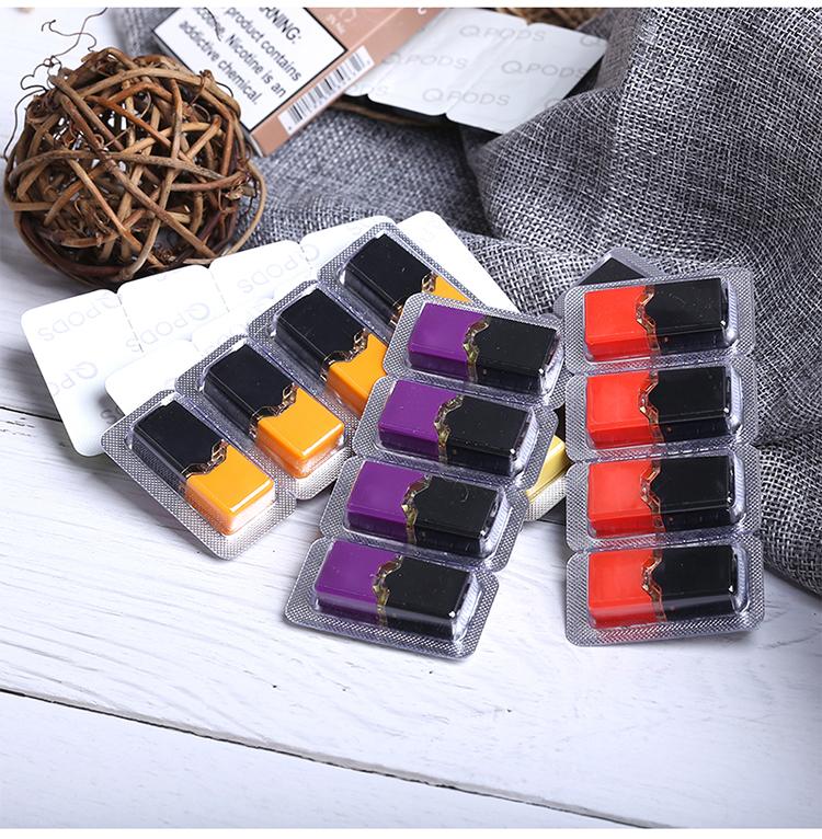QPODS Salt Nic Oil Cartridge