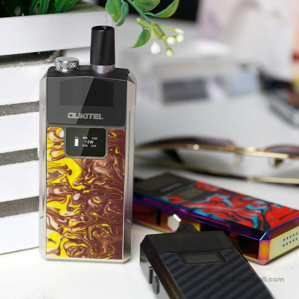 Oukitel Bison Starter Kit 1000mAh & 2ml