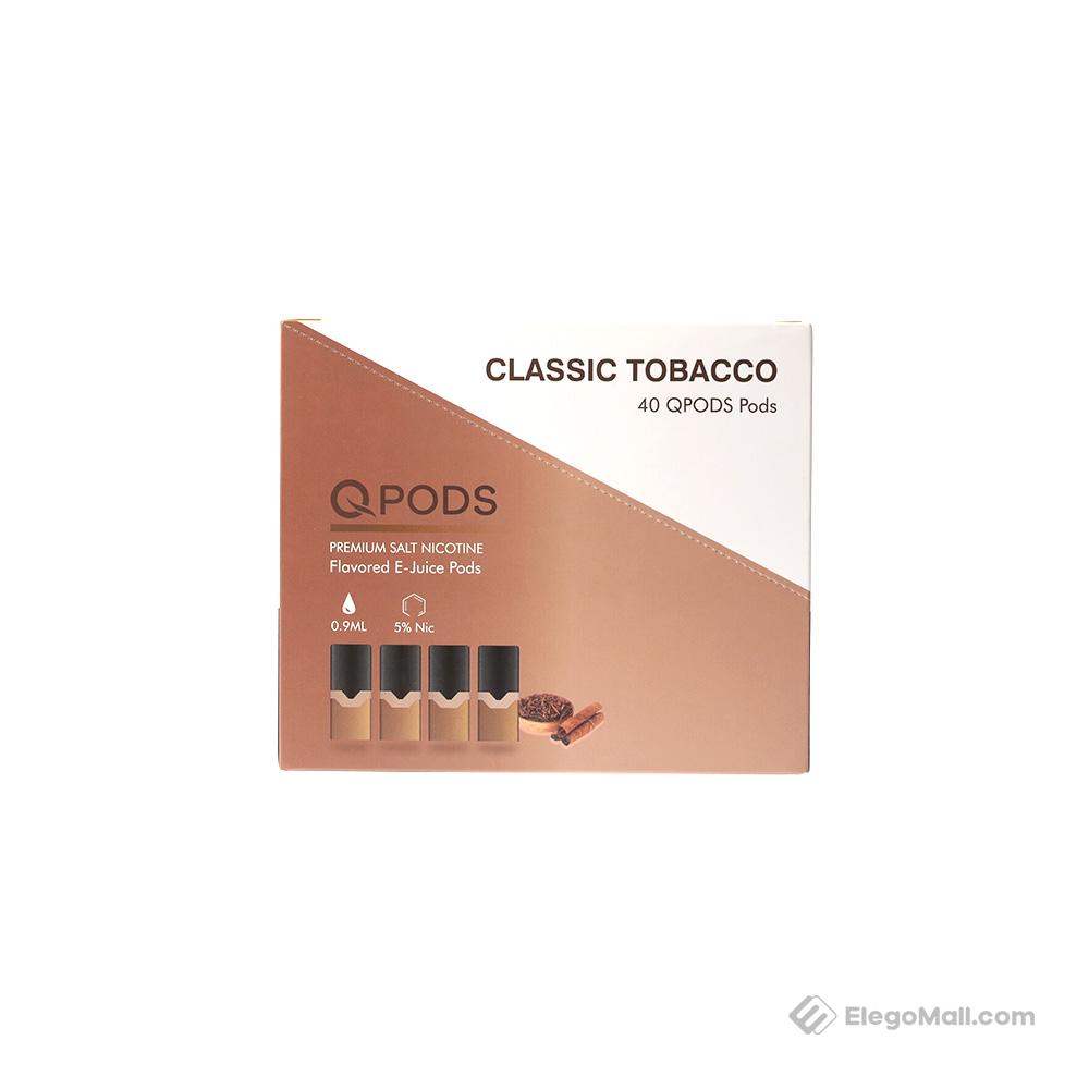 QPODS Salt Nic Oil Cartridge 0.9ml 4PCS/Pack