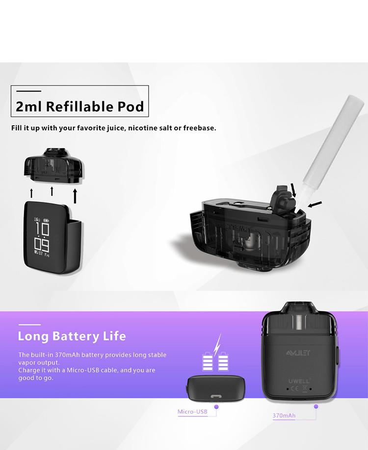 Uwell Amulet Pod System Kit
