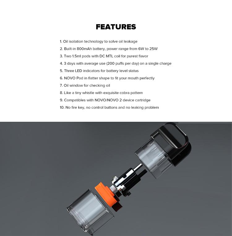 Freecool N800 pod system Kit