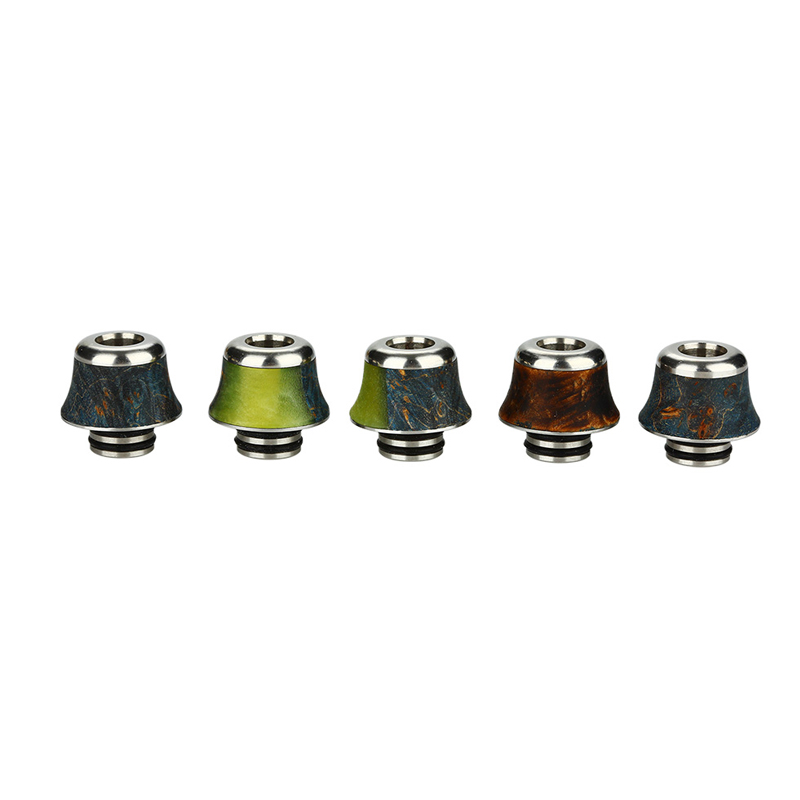 Arctic Dolphin Stabilized Wood A12 510 Drip Tip
