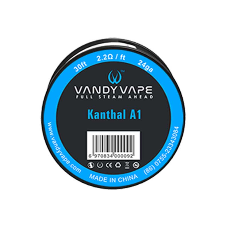 Vandyvape Resistance Wire Kanthal A1 Vape Wires