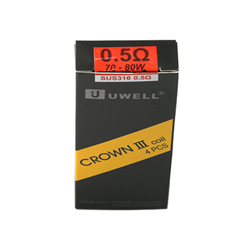 Uwell Crown 3 Replacement Coil for Uwell Crown 3 (4pcs/pack)